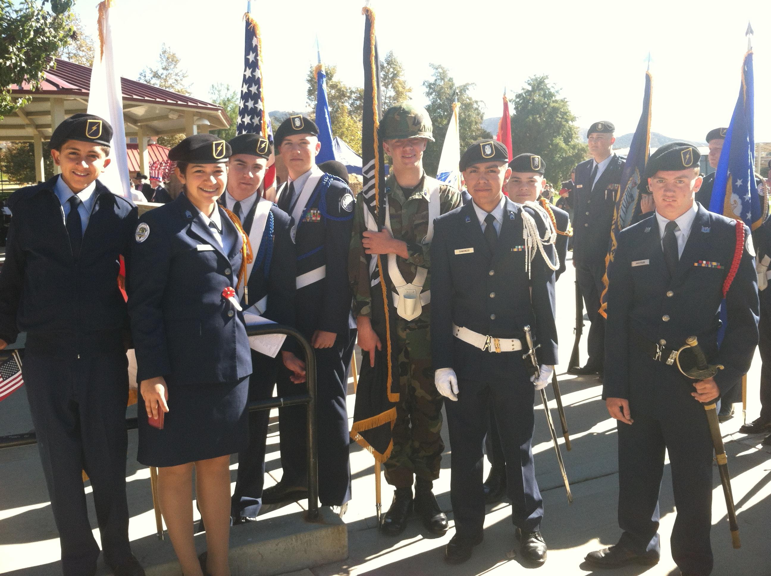 Andrew Samaniego Yucaipa ROTC