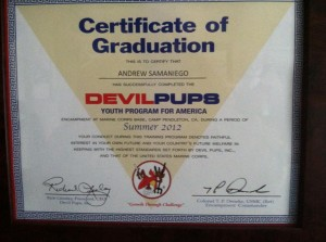 Andrew Samaniego Completed Devil Pups