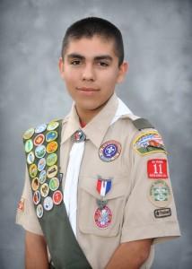 Andrew Samaniego - Eagle Scout, Senior Patrol Leader Troop 11