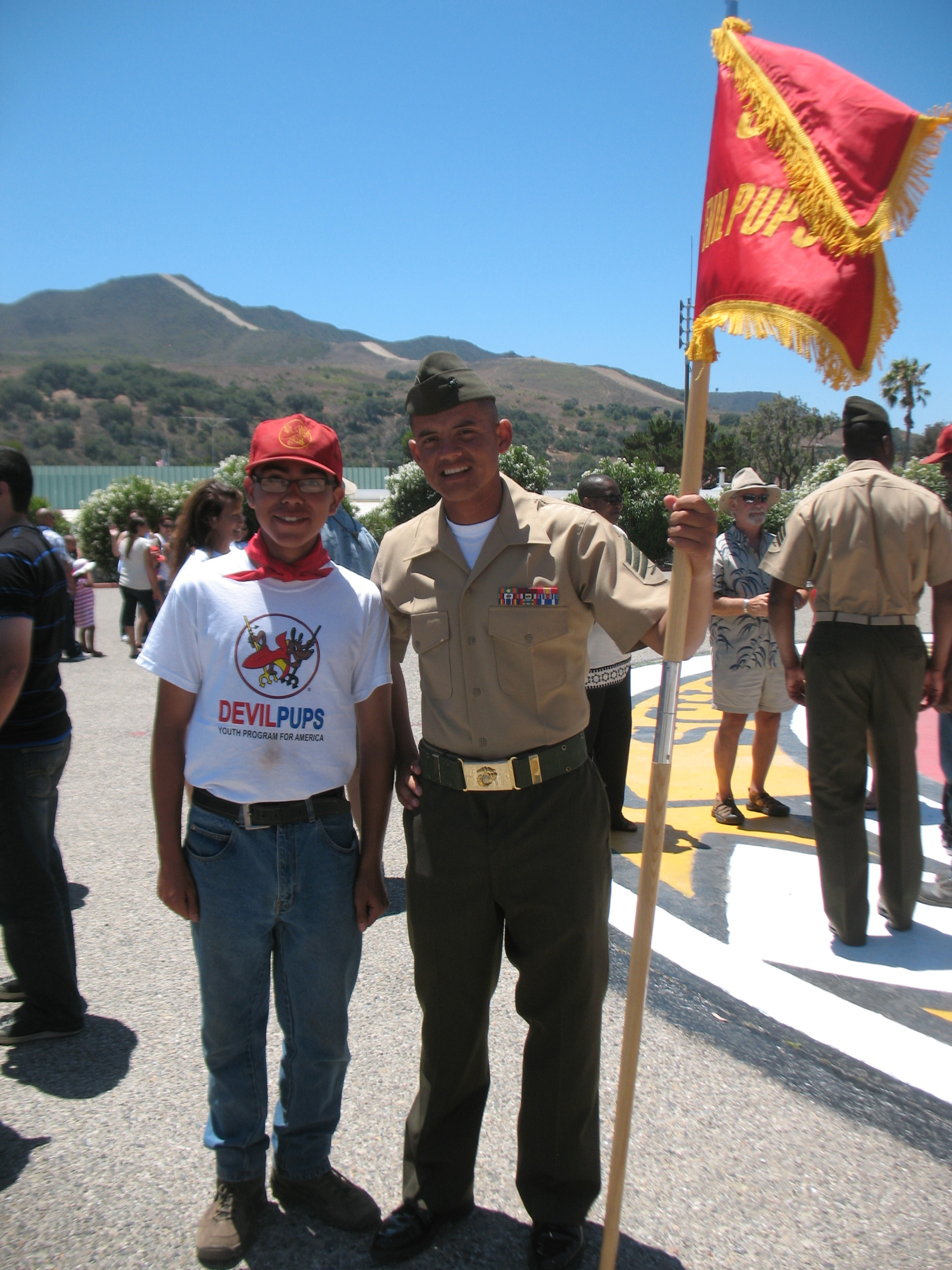 Marine Sgt that trained us at Devil Pups.