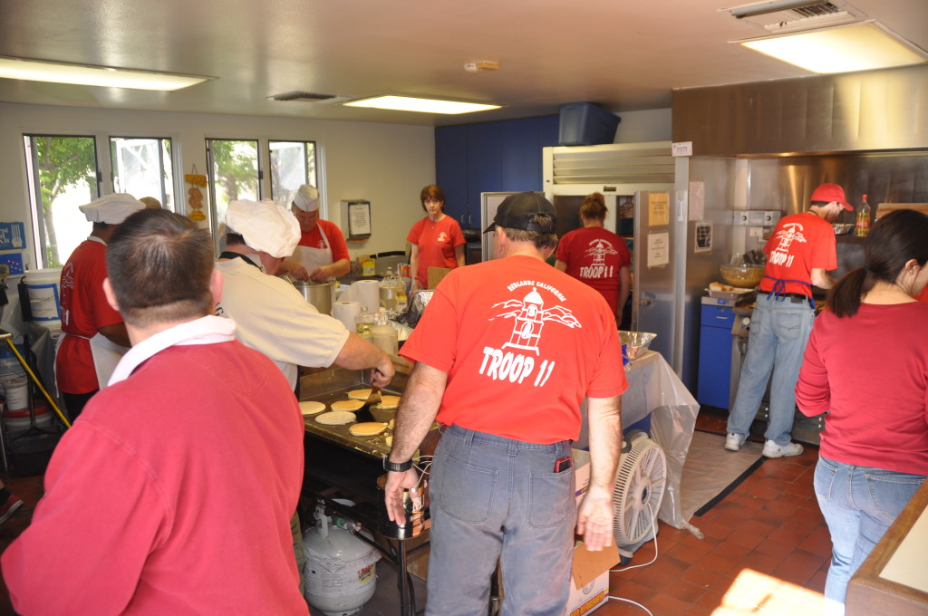 2013 Redlands Troop 11 Pancake Breakfast