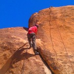 Rocking climbing tough