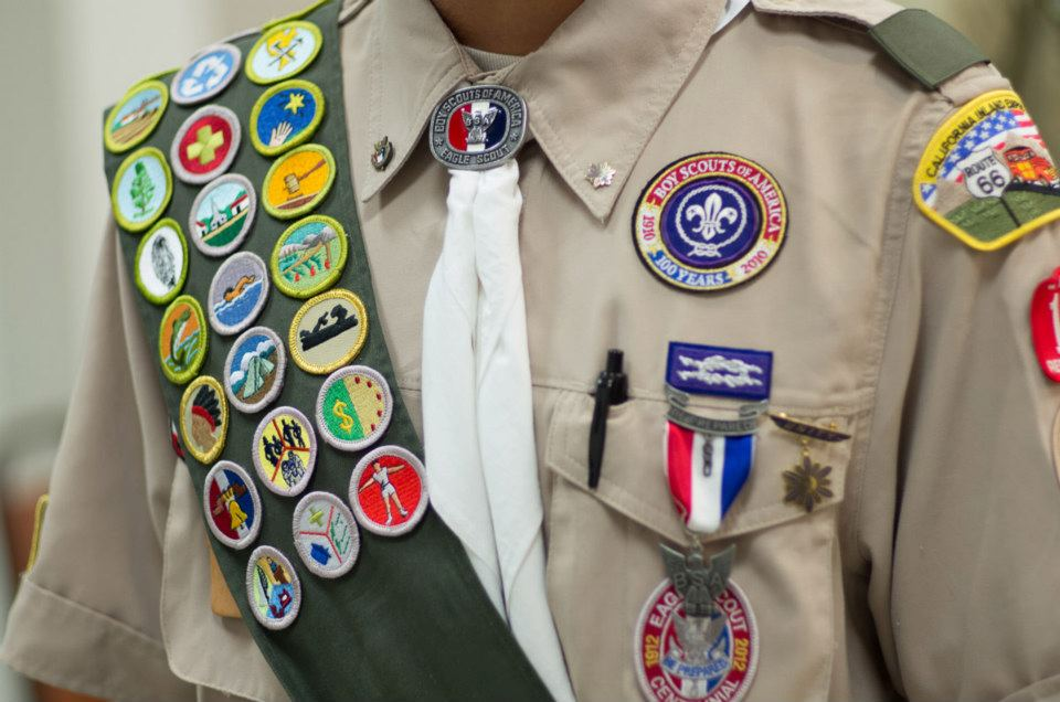 I it was hard to believe over 4 years ago I could displays his Scouting awards as Eagle Scout.