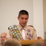 Master of Ceremonies of Troop 11 Court of Honor