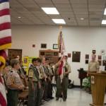 Redlands Troop 11 Flag Ceremony