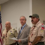 Scoutmaster for Troop 11 last 10+ years - Ray Norris, Paul Foster, Terry Welsh