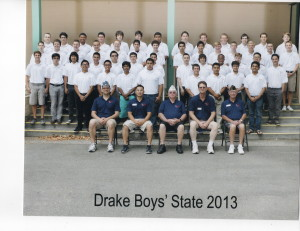 Group Photo of my City of Drake American Legion Boys State