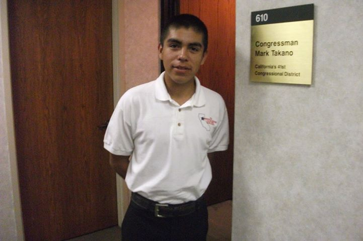 I am leaving Congressman Takanos office after some one-on-one time with Dean Latta