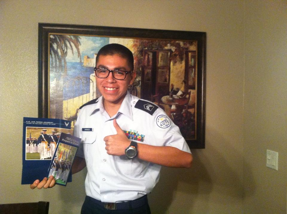 Andrew Samaniego Air Force Academy Interview