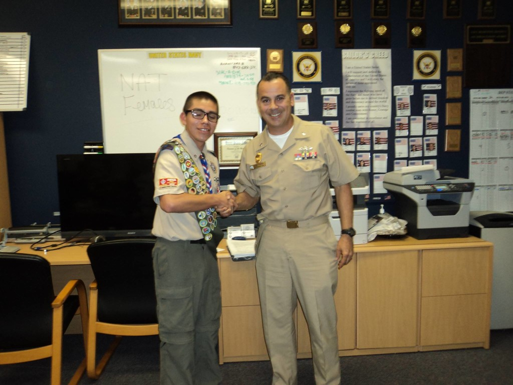 Navy ROTC Interview with LTJG Gomez.