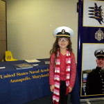 Bella Samaniego future midshipman??