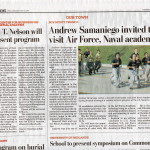 Samaniego In our local paper November 10, 2013