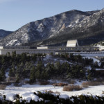 Air Force Academy in Snow