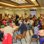 It was a full house for our Christmas Party.