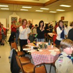 Humble of the standing ovation I received by scouts and parents