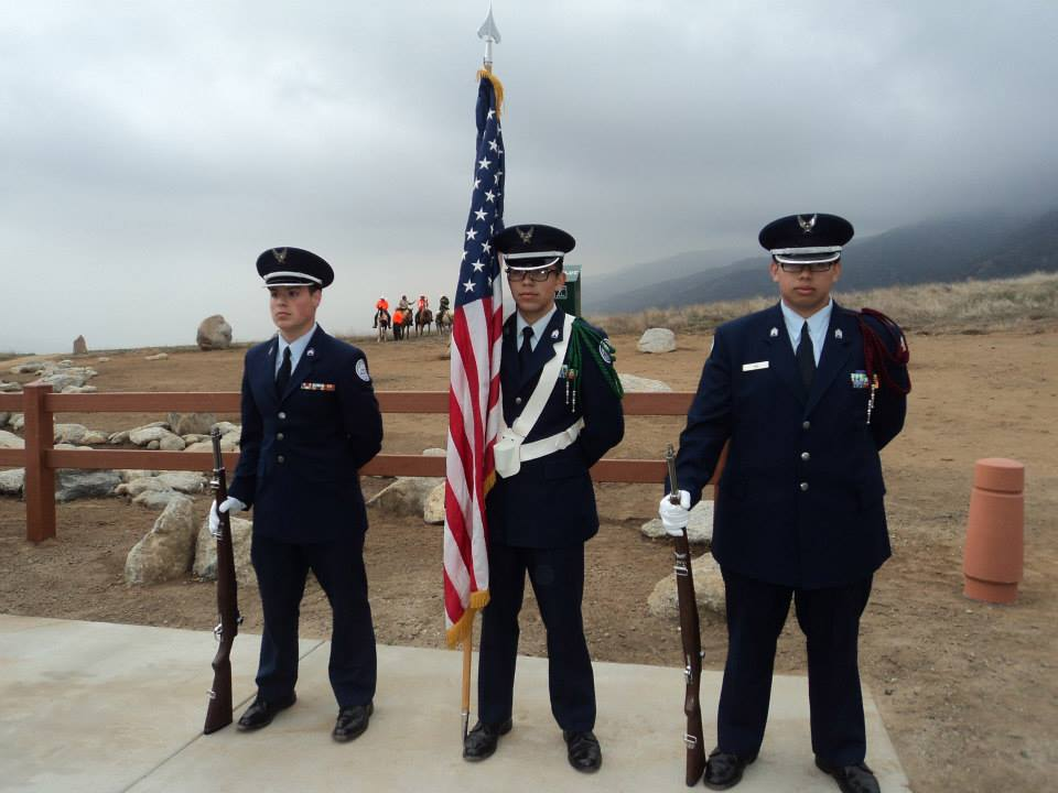 Yucaipa ROTC Color Guard