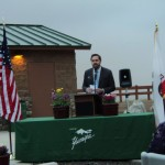 Matt Knox, District Coordinator for Congressman Paul Cook of the 8th California District