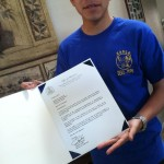 I am honored by the Appointment to Merchant Marine Academy.