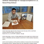 Andrew Samaniego of Yuca... U.S. Naval Prep School