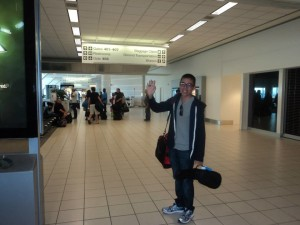 Andrew say's goodbye!