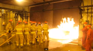 Fire Training at NAPS